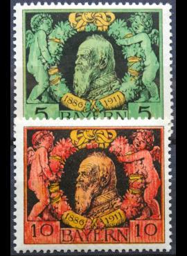 Senoji Vokietija, Bavarija MiNr 92-93 (A) MNH**