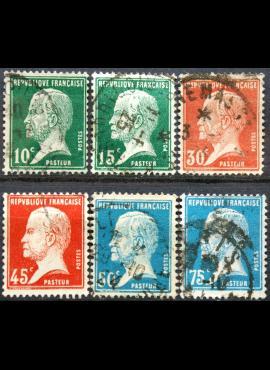 Prancūzija ScNr 185-186, 188, 190-192 Used(O)