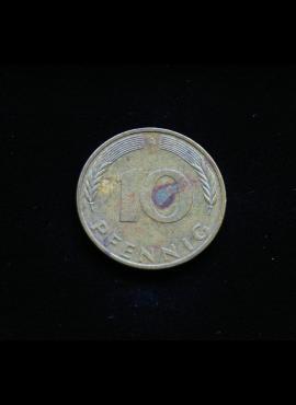 Vokietija, 10 pfenigų 1996m-A