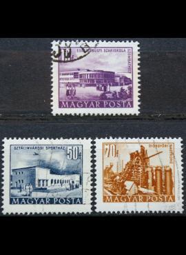 Vengrija ScNr 1049, 1054, 1056 Used(O)
