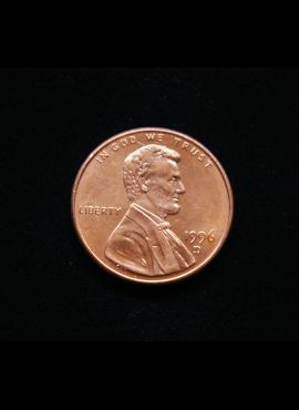 JAV, 1 centas 1996m-D