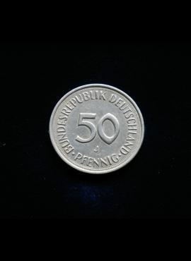 Vokietija, 50 pfenigų 1983m-J