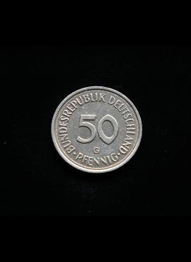 Vokietija, 50 pfenigų 1985m-G