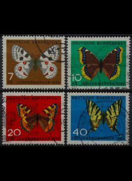 Vokietija, pilna serija MiNr 376-379 Used(O)