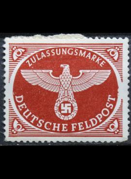 Vokietijos Reichas, oro paštas, MiNr 2 A MH*