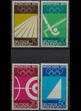 Vokietija, pilna serija MiNr 587-590 MNH**