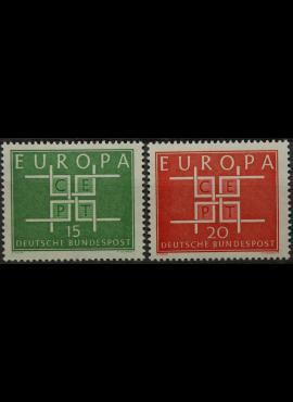 Vokietija, pilna serija MiNr 406-407 MNH**