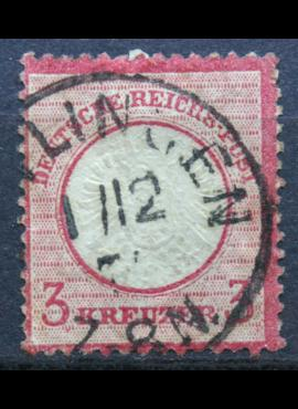 Vokietijos Reichas, 1872m, MiNr 25 Used(O)