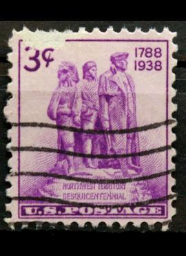 JAV ScNr 837 Used(O)