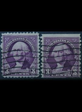 JAV, ScNr 720, 721 Used(O)