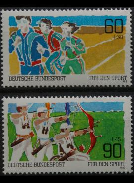 Vokietija, pilna serija MiNr 1127-1128 MNH**