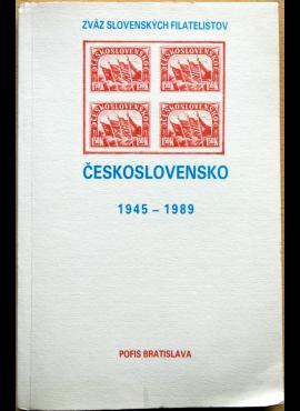 Čekoslovakijos specializuotas pašto ženklų katalogas 1945-1989m G