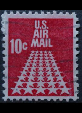 JAV, oro paštas ScNr C72 Used(O)