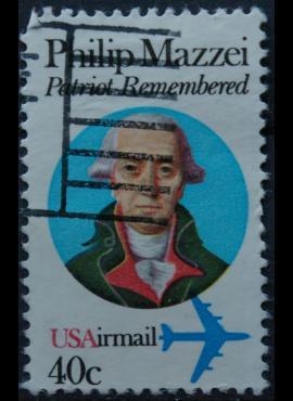 JAV, oro paštas ScNr C98 Used(O)
