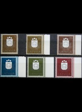 Latvija, pilna serija MiNr 305-310 MNH**