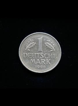 Vokietija, 1 markė 1990m-F