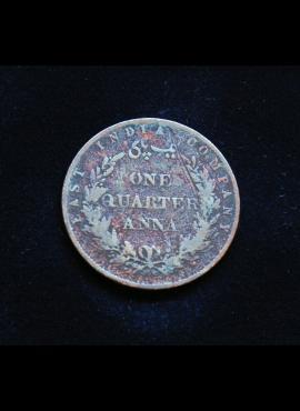 Indija - Britų, 1/4 anos 1858m