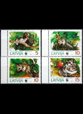 Latvija, pilna serija ScNr 381-384 MNH**