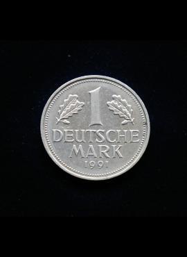 Vokietija, 1 markė 1991m-G