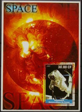 Kongo Demokratinė Respublika, blokas 2002m Used(O)