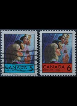 Kanada, pilna serija ScNr 502-503 Used(O)