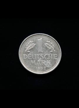 Vokietija, 1 markė 1992m-F