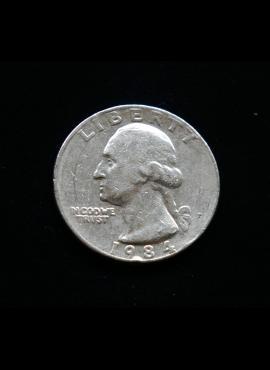 JAV, 25 centai 1984m-P