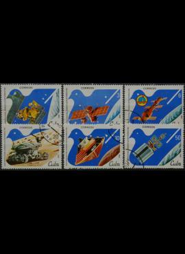 Kuba, pilna serija ScNr 2501-2506 Used(O)