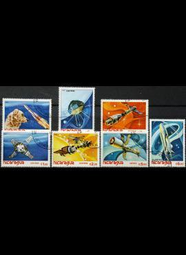 Nikaragva, dvi pilnos serijos ScNr 1152-1156, C1003-C1004 Used(O)
