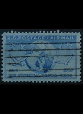 JAV, oro paštas ScNr C43 Used(O)