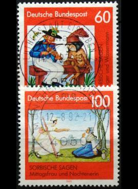 Vokietija, pilna serija MiNr 1576-1577 Used(O)