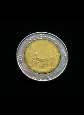 Italija, 500 lirų 1984m