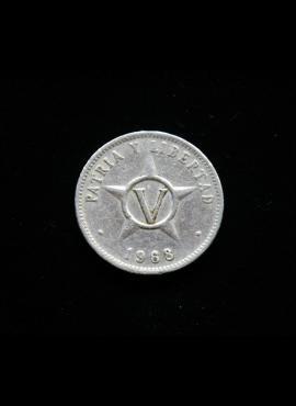 Kuba, 5 sentavai 1968m