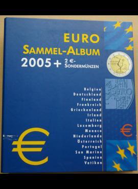 Albumas euro monetoms su įmautėmis