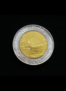Italija, 500 lirų 1987m