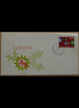 Lichtenšteinas, 1961m pirmos dienos vokas