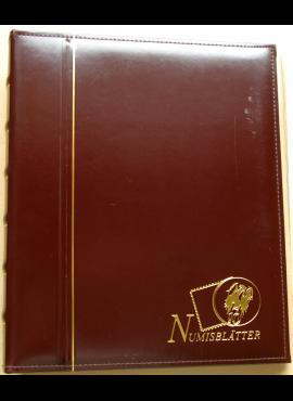 Albumas Deutsche Post Numisblätter 2002-2003 m.