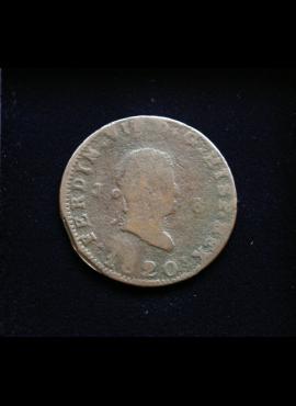 Ispanija, 8 maravedžiai 1820m