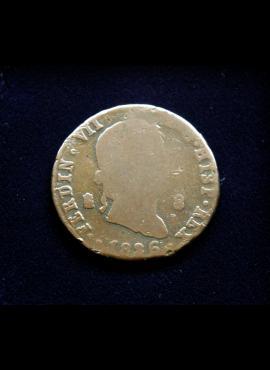 Ispanija, 8 maravedžiai 1826m
