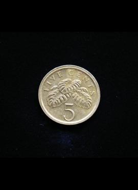 Singapūras, 5 centai 2003m
