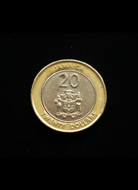 Jamaika, 20 dolerių 2001m