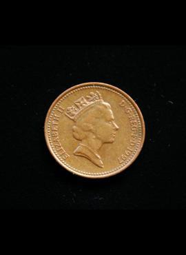 Didžioji Britanija, 1 pensas 1997m