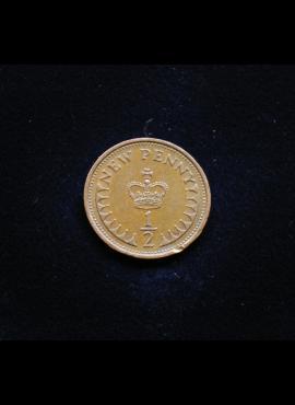 Didžioji Britanija, 1 naujasis pensas 1980m