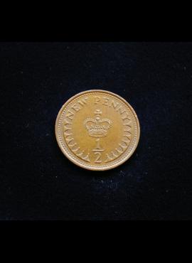 Didžioji Britanija, 1 naujasis pensas 1978m