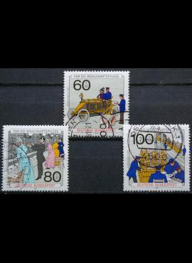 Vokietija, pilna serija MiNr 1474-1476 Used(O)
