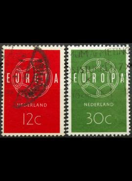 Nyderlandai, pilna serija ScNr 385-386 Used(O)