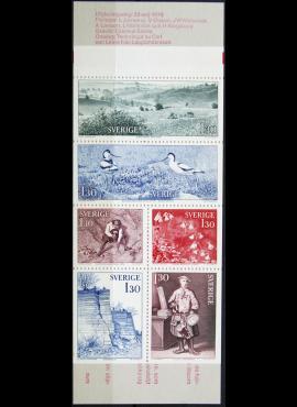 Švedija, pilna serija knygutėje ScNr  1242-1247 MNH**