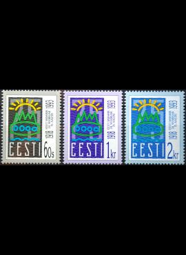 Estija, pilna serija ScNr 238-240 MNH**