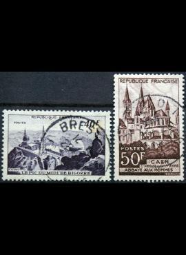 Prancūzija, pilna serija ScNr 591-592 Used(O)
