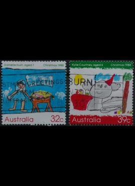 Australija, ScNr 1102-1103 Used(O)